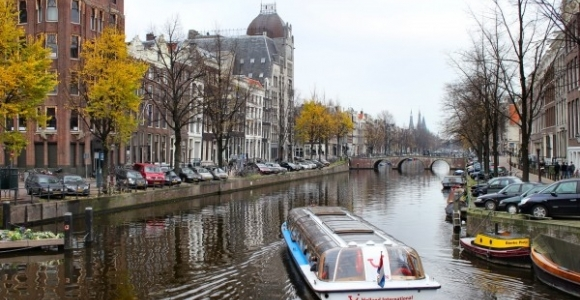 Lua de mel em Amsterdã